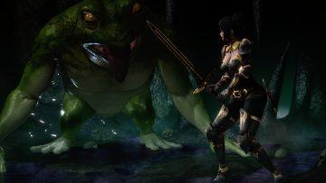 VS Giant frog 1-1