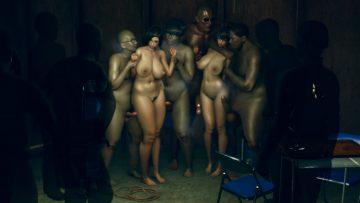 地下室歓迎会 – Welcome party in the basement 3-1